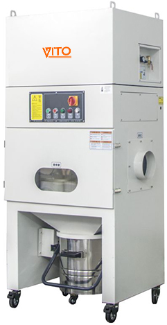 TDP Rod pressing release industrial dust collector